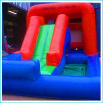 Whoopee Slide jumping castle