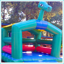 dino bouncer castle